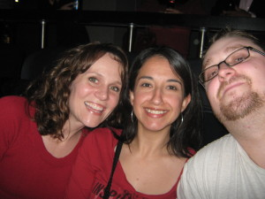 My SIL Leslie, Me, and Gangsta Matt at the U2 360 Tour.